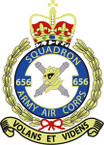 StTICKER British Crest - 656 SQN - Army Air Corps (AAC)