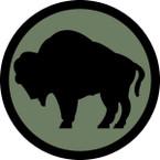 US ARMY UNIT 92TH INFINFANTRY DIV SHIELD COL STICKER