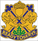 US ARMY UNIT 87TH DIVISION CREST STICKER