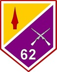 STICKERS US ARMY UNIT 62nd Infantry Battalion
