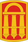 STICKERS US ARMY UNIT 118th Field Artillery Bdg