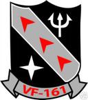 STICKER USN VF 161 FIGHTER SQUADRON