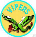 STICKER USN VF  80 FIGHTER SQUADRON VIPERS