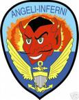 STICKER USN VF  54 FIGHTER SQUADRON ANGELI INFERNI