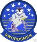 STICKER USN VF  32 FIGHTER SQUADRON SWORDSMEN