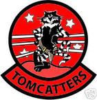 STICKER USN VF  31 FIGHTER SQUAD TOMCATTERS