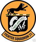 STICKER USN VF  21 FIGHTER SQUADRON FREELANCERS