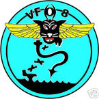 STICKER USN VF   8 FIGHTER SQUADRON