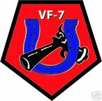 STICKER USN VF   7 FIGHTER SQUADRON