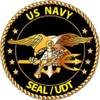 STICKER USN VET US Navy Seal - UDT
