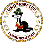 STICKER USN VET Underwater Demolitions Team - Sammy