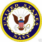 STICKER USN VET NAVY VETERAN SHIELD