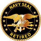 STICKER USN VET Navy Seal Retired