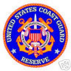 STICKER USN VET NAVY COAST GUARD RESERVE SHIELD