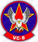 STICKER USN VC 8 Fleet Composite SQUADRON