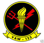 STICKER USN VAW 125 Early Warning Squadron