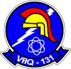 STICKER USN VAQ 131  ATTACK WING