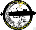STICKER USN US NAVY SUBMARINE SCHOOL