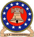 STICKER USN US NAVY CVN 62 USS INDEPENDENCE CARRIER A