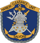 STICKER USN UNIT US Harbor Clearance Unit One