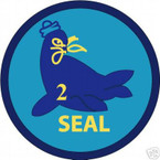 STICKER USN UNIT NAVY SEAL TEAM  2