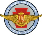 STICKER USN UNIT NAS Willow Grove