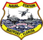 STICKER USN Naval Station Mayport Florida