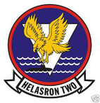 STICKER USN HS   2 HELO ANTI-SUB SQUADRON