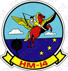STICKER USN HM 14 Vanguard