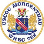 STICKER USCGC WHEC 722 MORGENTHAU