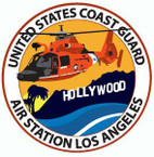 STICKER USCG AIR STATION LOS ANGELES II