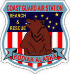 STICKER USCG Air Station Kodiak