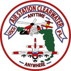 STICKER USCG AIR STATION CLEARWATER