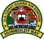 STICKER USCG AIR STATION CHUMBOLDT BAY