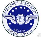 STICKER USAF VET SERGEANTS ASSOCIATION