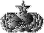 STICKER USAF VET MAINTENANCE BADGE