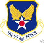 STICKER USAF US Headquarters US Air Force
