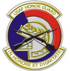 STICKER USAF VET Air Force Honor Guard