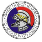 STICKER USAF VET Air Force Base Honor Guard