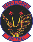 STICKER USAF  926 Aircraft Maintenance Squadron Emblem