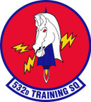 STICKER USAF  532nd Training Squadron Emblem
