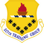 STICKER USAF  517th Training Group Emblem