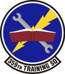STICKER USAF  359 Training Squadron Emblem