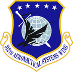 STICKER USAF  312th Aeronautical Systems Wing Emblem