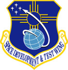 STICKER USAF SPACE DEVELOPMENT AND TEST WING