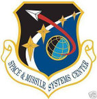 STICKER USAF SPACE AND MISSILE SYSTEMS CENTER1