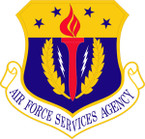 STICKER USAF SERVICES AGENCY