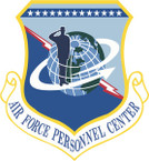 STICKER USAF PERSONNEL CENTER