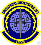 STICKER USAF Air1st Special Operations Support Squadron