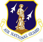 STICKER USAF Air National Guard